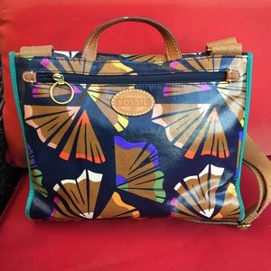 Fossil colorful cross body bag